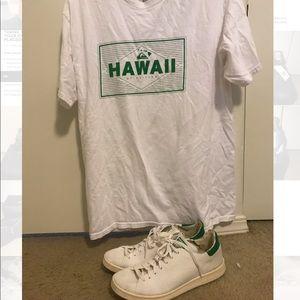 Adidas Stan Smith and quicksilver shirt